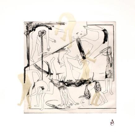 Fotopolímero y chine-collé papel japonés 40x50cm 2016